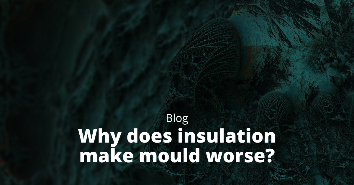 Why does insulation make mould worse?