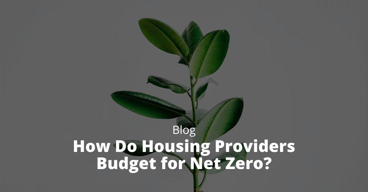 How Do Housing Providers Budget for Net Zero?
